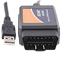 Top sælge! v1.4 ELM327 OBD2 CAN-bus diagnoseinterface scanner