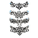 5 Pcs Waterproof Temporary Tattoo(17.5cm*10cm)
