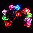 2,5 3W 10-LED красочный свет форме бабочки привел строки лампы для фестиваля украшения (3xAA)