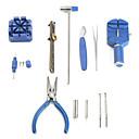 16st klocka reparation verktygslåda med stift remover