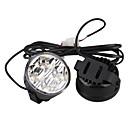 Car Daytime Running Light (2 PCS, 4 LED, White Light, Waterproof)
