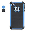 Custodia anti-urto in plastica per iPhone 4 e 4S - Colori assortiti