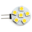 G4 0.5W 6 SMD 5050 40 LM Warm White LED Spotlight DC 12 V