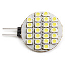 G4 1.5W 24 SMD 3528 60 LM Natural White LED Spotlight DC 12 V