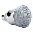 12-LED Water Temperature Visualizer Sensor Round Shower Head