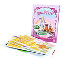 DIY Fairy Tale 3D Puzzle Cinderella (45pcs, difficulty 3 of 5)