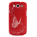 Butterfly Pattern Hard Case for Samsung Galaxy S3 I9300 (Assorted Colors)