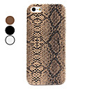 Etui Rigide Style Peau de Serpent pour iPhone 5 - Assortiment de Couleurs