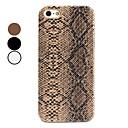 Carcasa Dura Con Aspecto de Piel de Serpiente para el iPhone 5 - Colores Surtidos