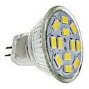 6W GU4(MR11) Faretti LED MR11 12 SMD 5730 570 lm Bianco caldo DC 12 V