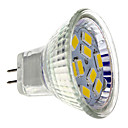 GU4(MR11) 4W 9 SMD 5730 430 LM Warm wit MR11 LED-spotlampen DC 12 V