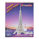Eiffel Tower DIY Wooden 3D Architecture Puzzle Jigsaw (Model:G-P030A)