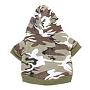Cotton Camouflage Pattern Hoodies for Dogs (Assorted Color,XXS-M)
