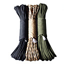 100FT 7 Core Strand Parachute Cord for Travel og udendørs
