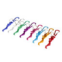 Belle Shaped Aluminum Bottle Opener with Carabiner (Random Color)
