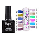 1PCS Soak-off UV Color Gel No.109-No.120(10ml,Assorted Colors)