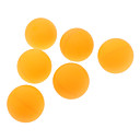 Three-Star Durable World-class Table Tennis Ball for Top Tournament(6 PCS,Orange)