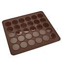 WS0464硅胶垫子30个  30 Holes Silicone Macaroon Cookies Mat CM-83