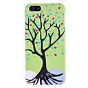 grøn kærlighed tree mønster hård taske med dråbe for iphone 5/5s
