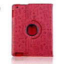Urocza Wzór Faerie PU Leather Case for iPad 2/3/4