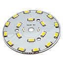 9W 18x5630SMD Warm White Light Alumiini Base LED lähetin (29-31V)