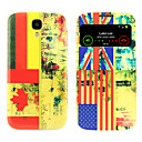 National Flag Pattern with Window Case for Samsung S4 I9500