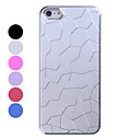 Aluminum Crack Pattern Back Case for iPhone 5/5S(Assorted Colors)