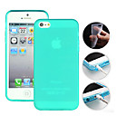 TPU Candy Color Protective Case for iPhone 5/5S(Assorted Colors)