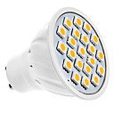 GU10 5W 20 SMD 5050 320 LM Warm wit MR16 LED-spotlampen AC 220-240 V