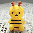 Cute Bee Style gomma Giocattoli squittio per cani gatti