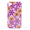 Colorful Flower Pattern Style Protective Case for iPhone 4 and 4S (Multi-Color)