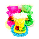 Musim dingin - Hijau / Kuning / Mawar - Cosplay - Pakaian bahan bulu - Baju - Anjing - XS / M / XL / S / L