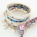 Fashion Multilayer Alloy With Pearl&Bowknot Women's Bracelet(More Colors)