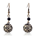 European Style Vintage Carve Balls Drop Earrings