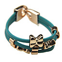 Bowknot PU Bracelet (couleurs assorties)