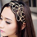 z&x® pelo trenzado hueco con banda de pelo de oro