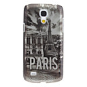 Modern Paris Eiffel Tower Pattern Hard Case for Samsung Galaxy S4 I9500