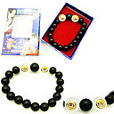 Buy Jewelry Inspired One Piece Portgas D. Ace Anime Cosplay Accessories Bracelet Black Artificial Gemstones Male