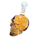 500ml Big Size Crystal Head Vodka Skull Bottle With Retail Package