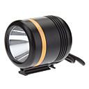 Buy KISU 5-Mode Cree XM-L2 U2 LED Bicycle Flashlight/Headlamp (1230LM, USB Charger, Black+Gold)