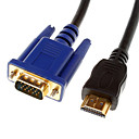 HDMI V1.3 Male to VGA Male кабель Gold-Plated (1.8M)
