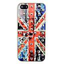 Square Rivet British Flag Pattern Back Case for iPhone 5/5S
