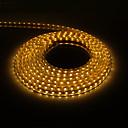 5M 300x5050SMD 3000K Warm Wit Licht PCB waterdichte LED Light Strip met stekker (220V)