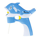 abs blå blåse boble delfin modell leketøy