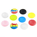 Buy Shine Green Amazing 10 Sets Thumb Stick Grips PS3 Controller XBOX 360 WII Wii u (Random Color)