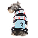 Classic Style Snow Print Warm Sweater for Pets Dogs (Assorted Colors, Sizes)