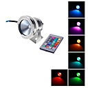 Remote-Controlled Flood Lights 10 W 1000 LM RGB AC 12 V