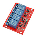 Buy 5V 4 Channel High Level Trigger Relay Module Arduino (Works Official Boards)