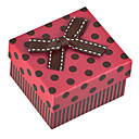 Sweet Red Paper Jewelry Box For Watch (Red)(1 Pc)