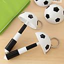 Voetbal Style Balpen met sleutelhanger